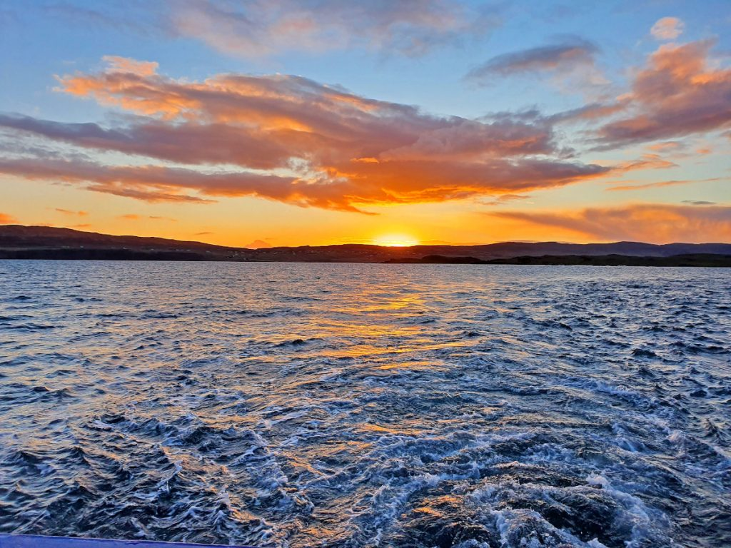 Sunset over the Isle of Skye. (Derek McIntosh)