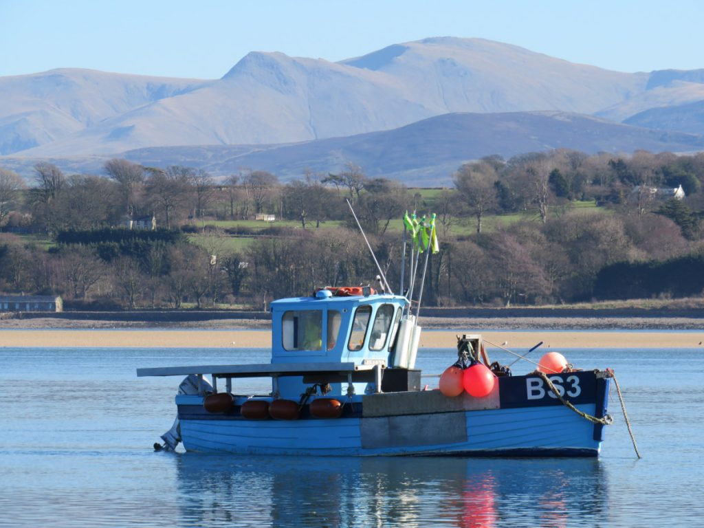 Valerie BS 3 on the moorings in the Menai Straits, Anglesey. (Michael Thomas)