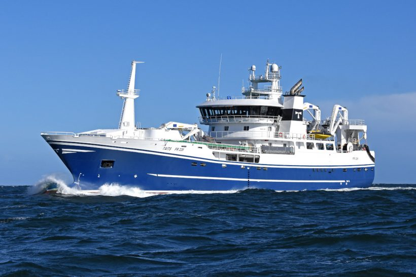 Taits FR 229 – Advanced technology on new Fraserburgh midwater trawler enhances family traditions