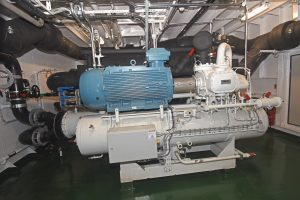 Two ammonia-based FrioNordica refrigeration plants each deliver 1,300kW of cooling capacity.