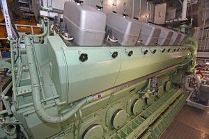 Bergen Diesel B32-40 LSP main engine…