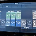 Three 24in touch-screen controllers enable the operator to quickly select preferred displays in relation to Taits' prevailing mode of operation.