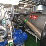 C-Flow vacuum landing tank sand pumps.