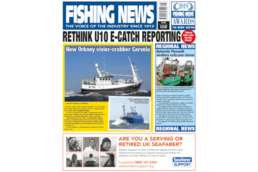 New Issue: Fishing News 18.04.19