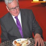 Scottish fisheries minister Fergus Ewing sampling Scottish seafood, much of which was MSC-accredited…