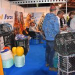 Gael Force – a wide range of potting gear and safety equipment on the Gael Force stand attracted a continuous succession of visitors.