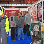 Tyson's Riggers – exhibiting a wide range of mobile and static fishing gear, as well as safety equipment, resulted in a busy two days on the Tyson's stand.
