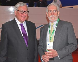Scottish fisheries minister Fergus Ewing paid tribute to the work of SFF chief executive Bertie Armstrong, who is retiring in August.