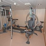 Kirkella's gym.
