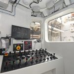 … or from a control room aft on the trawl deck.