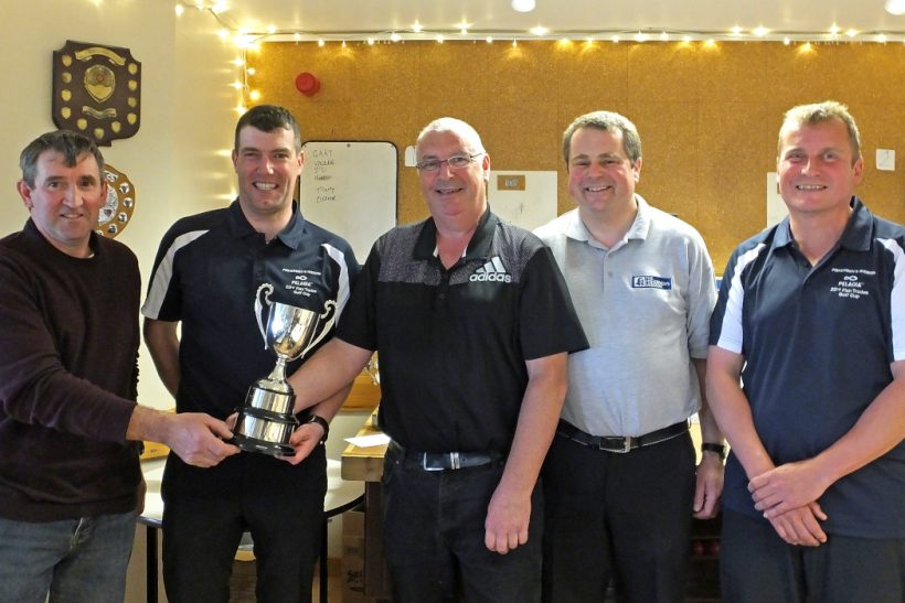 Serene team overcomes challenging conditions for Shetland Fish Trades Golf Cup