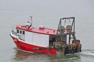 The Cygnus GM33 Valentine works triple-rig trawls for flatfish off the Kent coast.