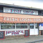 Folkestone Trawlers' fish shop.