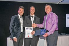 Fish Processor of the Year winner Peter Hodgson of Hodgson Fish, Hartlepool.