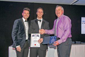 Fish Processor of the Year winner Peter Hodgson of Hodgson Fish, Hartlepool.
