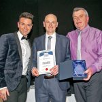 The Service Company of the Year award went to Jackson Trawls and was presented to Mark Buchan.