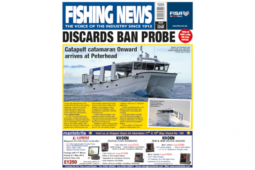 New Issue: Fishing News 16.05.19