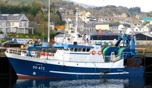 The Greencastle trawler Northern Celt is one of the Irish vessels currently fishing at Rockall.