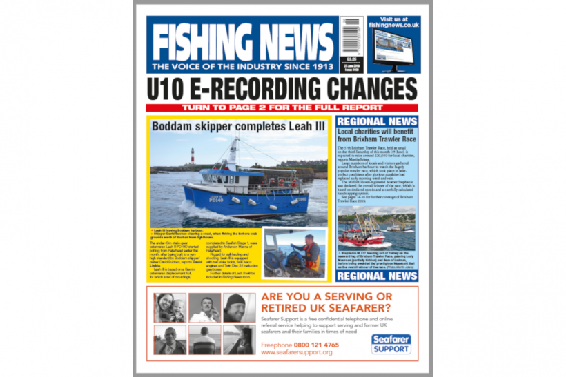 New Issue: Fishing News 27.06.19