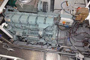 Macduff Diesels supplied the Mitsubishi main engine…