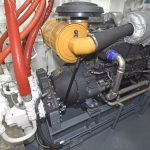 … the Mitsubishi 6D24TCE variable-speed hydraulic engine…