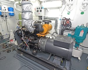 … and the Mitsubishi S4KT-based generator.