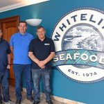 Whitelink Seafoods' directors Andrew, James and Graeme Sutherland.