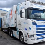 … for delivery to France in one of Whitelink Seafoods' refrigerated vehicles.