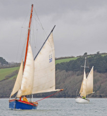 Falmouth Oyster Dredging