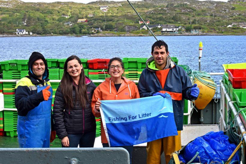Lochinver becomes a KIMO harbour after successful pre-school campaign