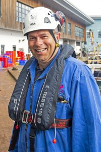 Roger Gee, principal consultant marine surveyor at the Maritime and Coastguard Agency (MCA).