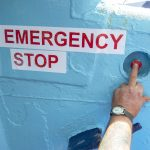 … emergency stop button works on the winch.