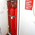 … and CO² extinguishers are all in date.