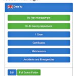 … on the Vessel Manager app…