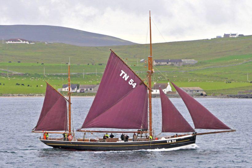 Westward Ho returns to Faroe from Shetland