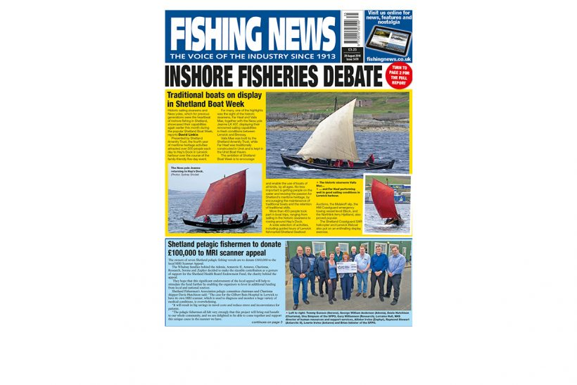 New Issue: Fishing News 29.08.19