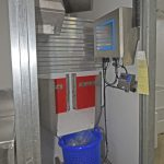 A VCU catch management system is located in a dedicated compartment in the fishroom.