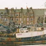 The first Good Hope berthed at Campbeltown, after being sold to Portavogie and re-registered B 900.