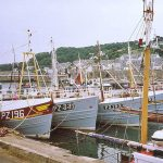 """Larry's shot of the WS&S sidewinders many years ago. With a wry smile, Larry said: """"Sidewinding – that's real trawling!"""""""