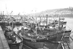 A shot from the early 1980s, at least three years before Phil Lockley began taking photos of the Cornish fishing industry.