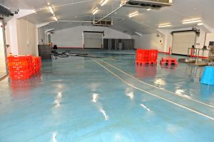 Newlyn fishmarket is performing well after being extensively refurbished.