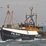 Silver Fern in her previous role as a trawler, built by Herd & Mackenzie of Buckie in 1982 for Fraserburgh skipper Alex Wiseman.