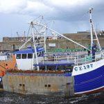 Silver Fern returning to Macduff from sea trials.