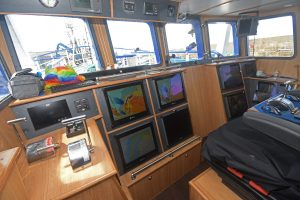 McMinn Marine supplied and installed a comprehensive selection of electronic equipment in the new wheelhouse…