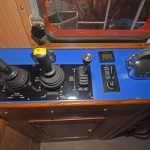 One of two wing fishing consoles in the wheelhouse.
