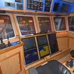 The wheelhouse interior.