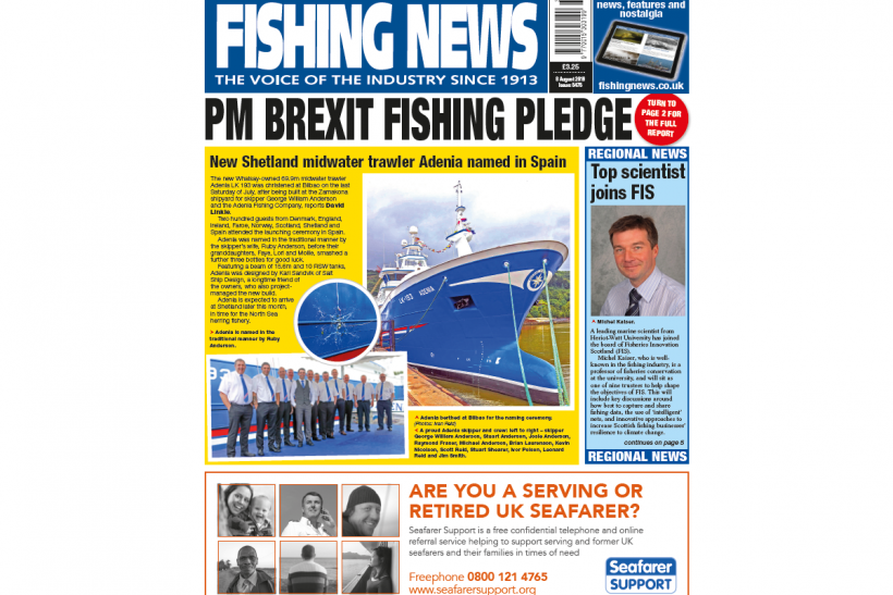 New Issue: Fishing News 08.08.19