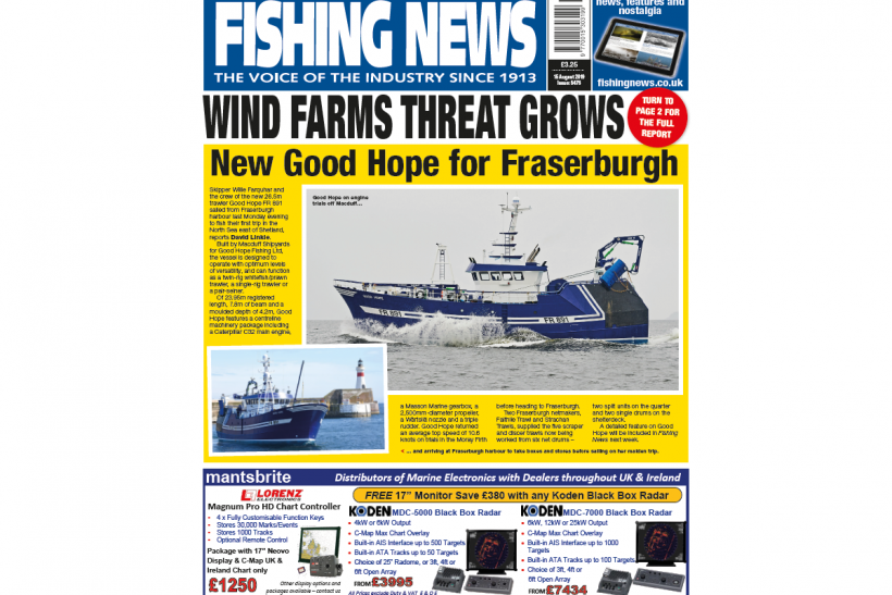 New Issue: Fishing News 15.08.19