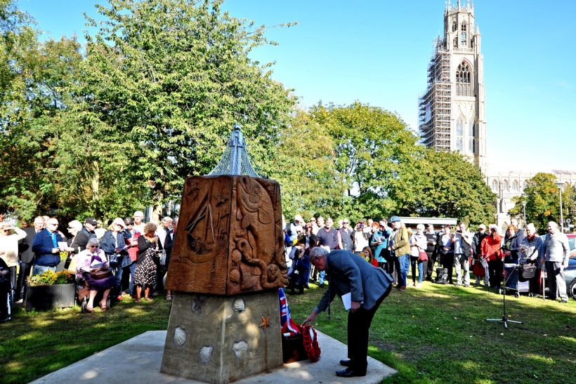 Boston's memorial to lost fishermen: from little acorns…
