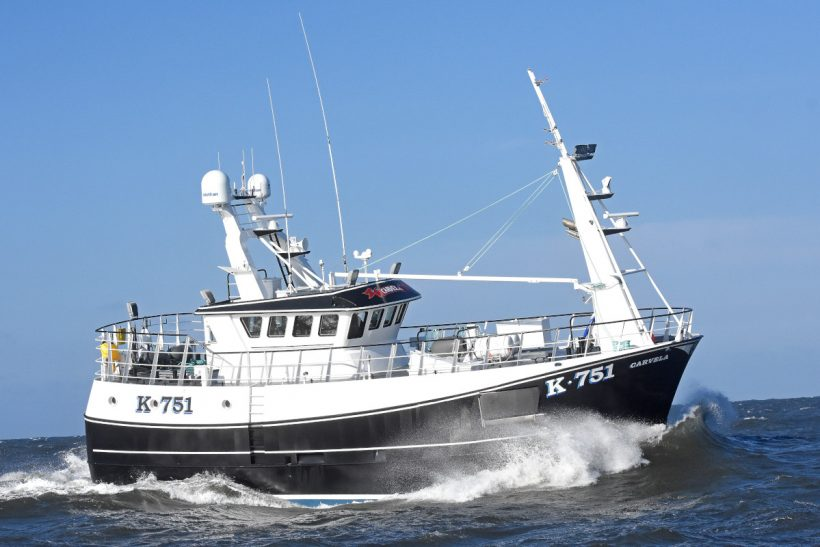 Carvela – New Stromness vivier-crabber proving its fishing credentials west of Orkney